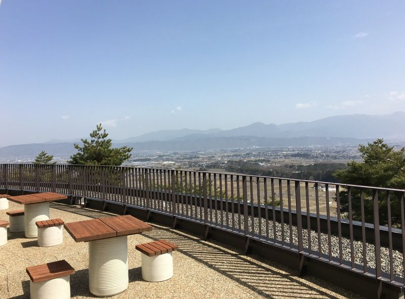 運が良ければ富士山も見える!