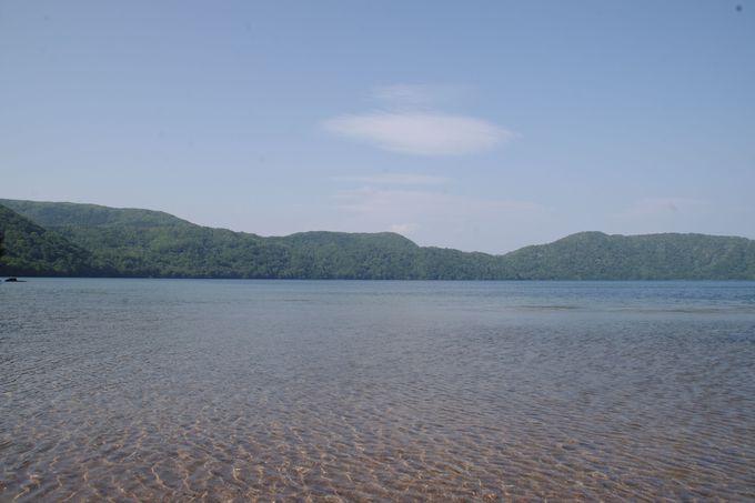 20m下まで見える透明度!火山が創りだした神秘の湖・倶多楽湖