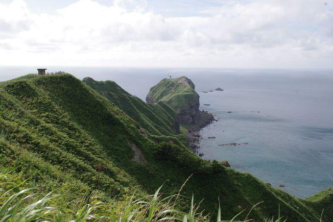 悲しき乙女の伝説と神レベルの美景『神威岬』