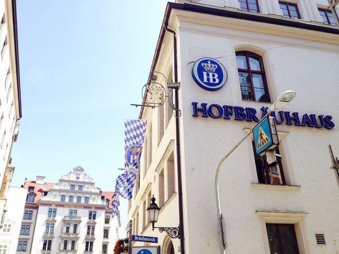 ミュンヘンに来たらまずここ!ホーフブロイハウス