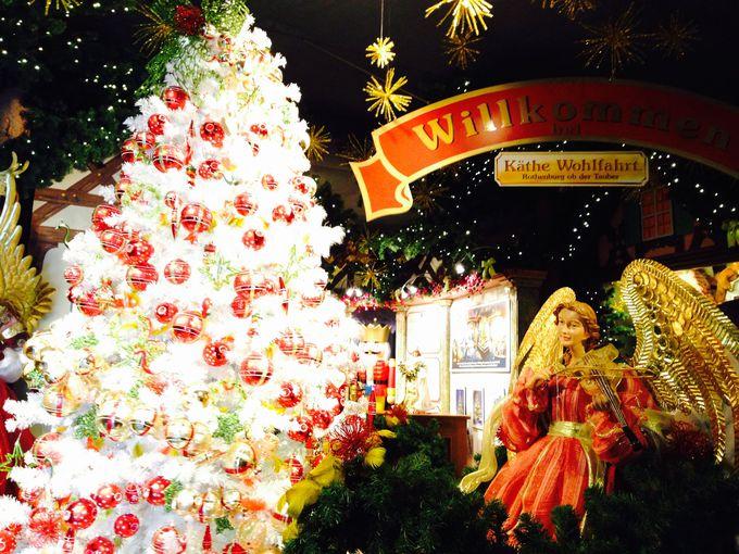 一年中がクリスマス!クリスマスオーナメントの宝庫、ケーテ・ヴォールファールト