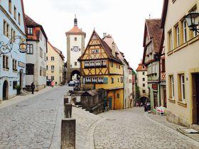可愛すぎる街並み!ドイツ・ローテンブルクで絵本の世界に迷いこむ