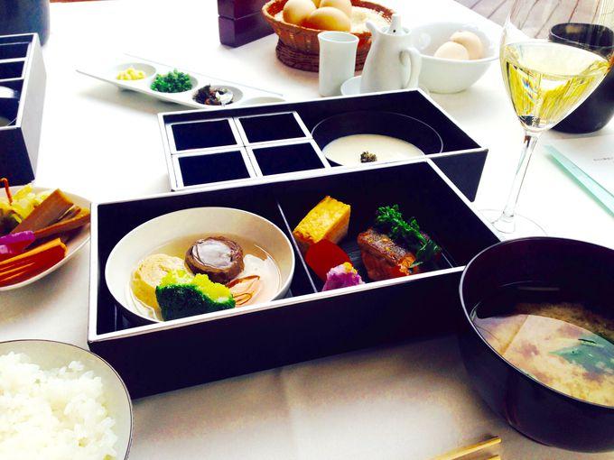 彩り豊かな野菜がたっぷり!「ラ・ブリーズ」で優雅な朝食を