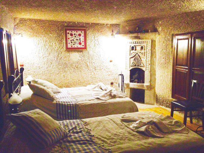 ロマンチックな客室でメルヘンステイ