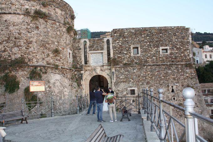 ピッツォの要塞城、Castello Murat