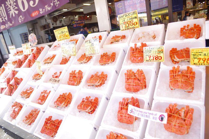 北海道中の新鮮な海産物を堪能できる!札幌「北のグルメ」