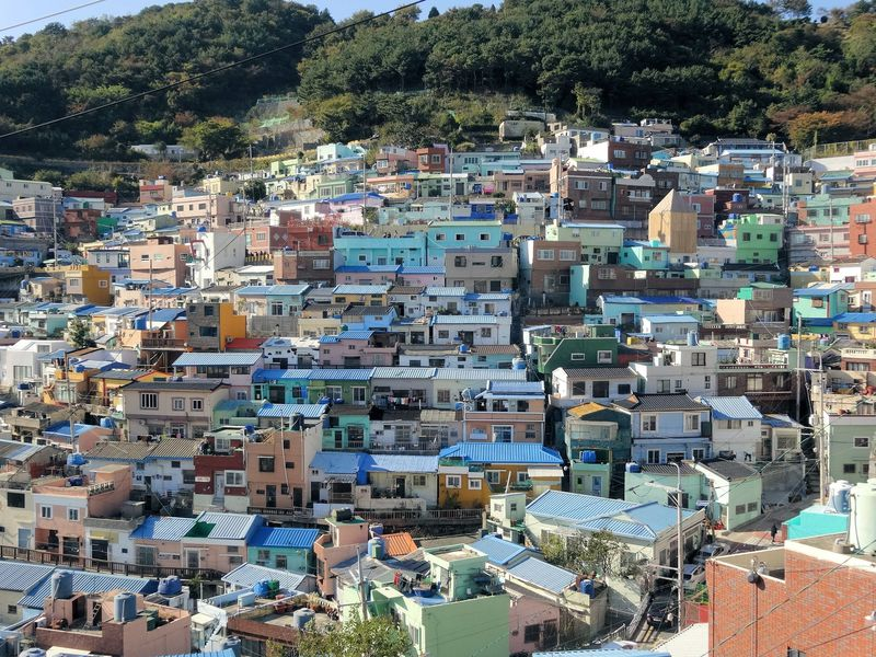 韓国のマチュピチュ!釜山で今ホットな観光名所「甘川文化村」