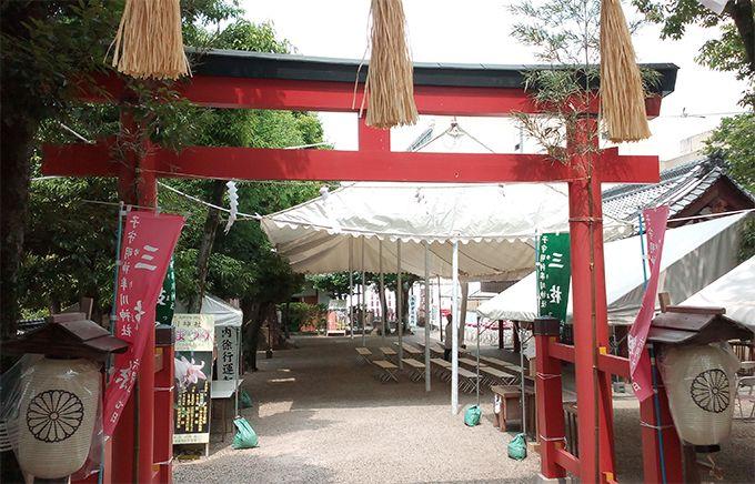 奈良市最古の神社・率川神社