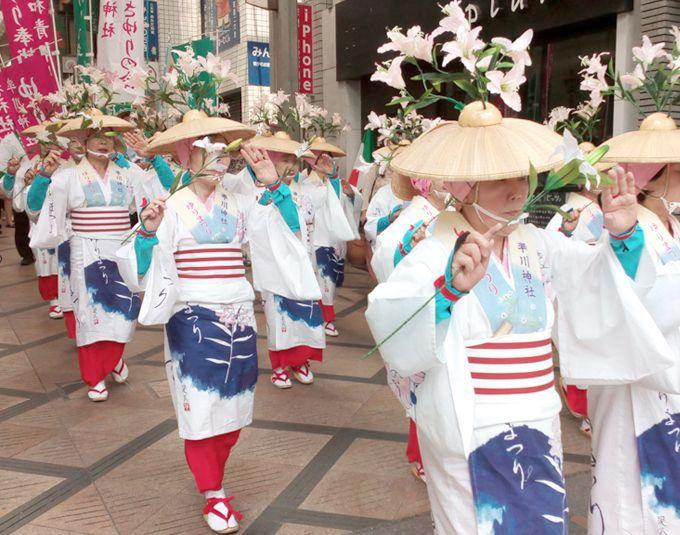 ささゆり音頭が告げる!奈良・率川神社「笹百合奉献神事」