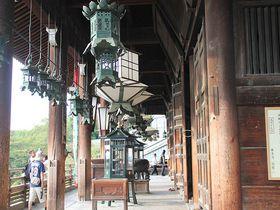 僧・良弁と大鷲が飛んだ!?奈良「二月堂」からみる眺め
