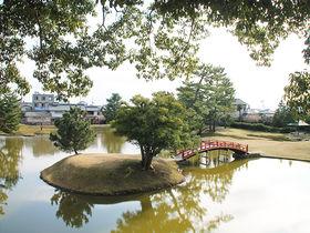南都随一の名園!奈良「旧大乗院庭園」水鳥と自然に癒される