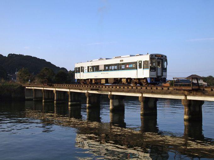 さて次は、玄界灘に面したカモメの飛び交う美しい橋「志佐川橋梁」