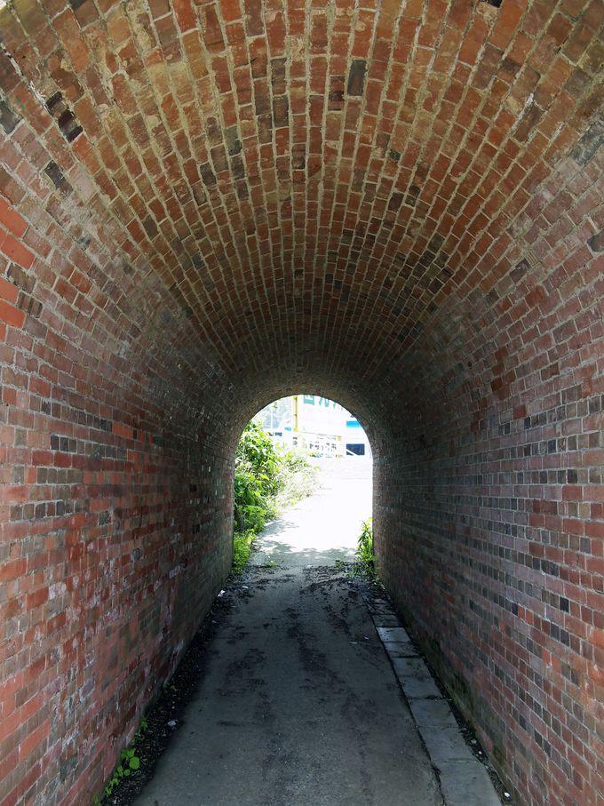 小形の半円アーチ橋「小森橋梁」
