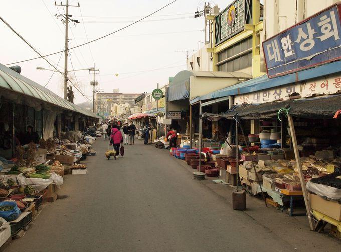 歩くだけでも楽しい「南部市場」