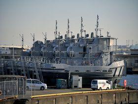 日米境界線とその番人、そして「あぶ刑事」。横浜瑞穂埠頭