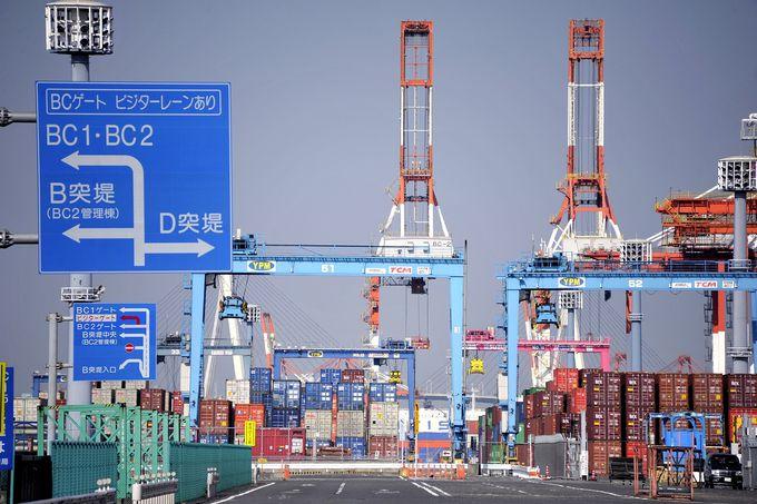 本牧埠頭は横浜港の中心
