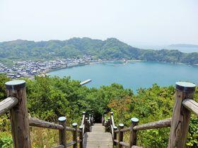 山頂から瀬戸内海を一望!人口140人の愛媛県・野忽那島を巡る