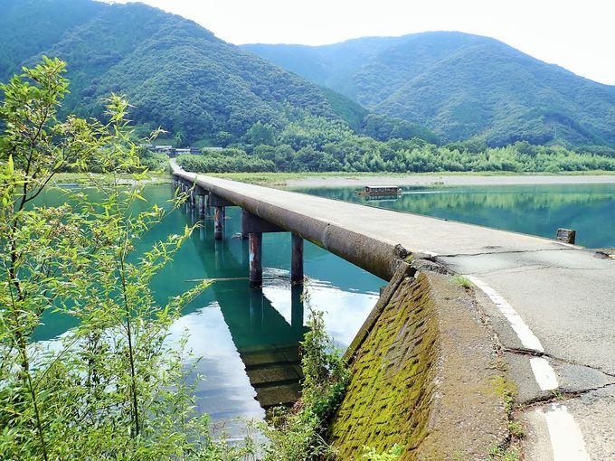 四万十川3位の長さを誇る「高瀬沈下橋」
