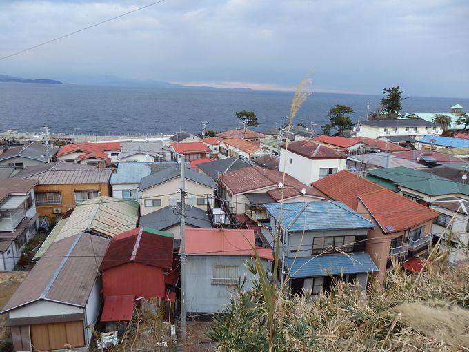 江戸時代から世帯数の変わらない住宅街