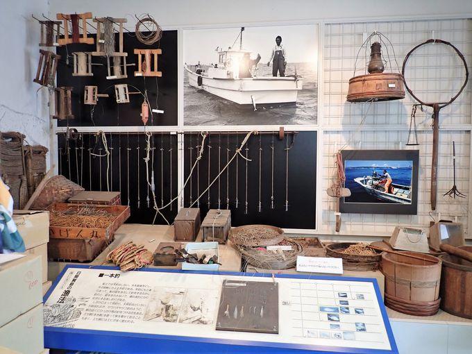 タコ漁について学べる日間賀島資料館