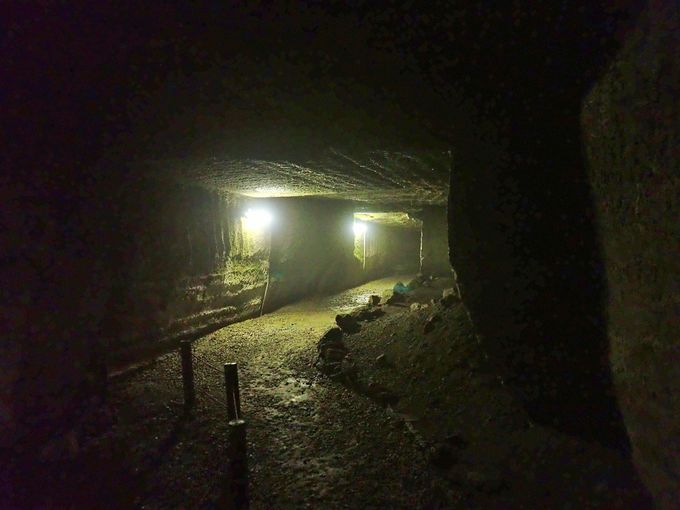 静かな石切場