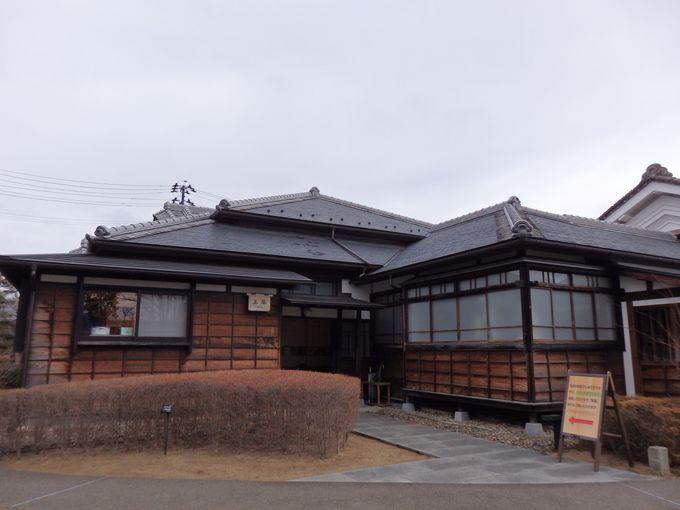 福島の発展に貢献した堀切家の旧邸宅