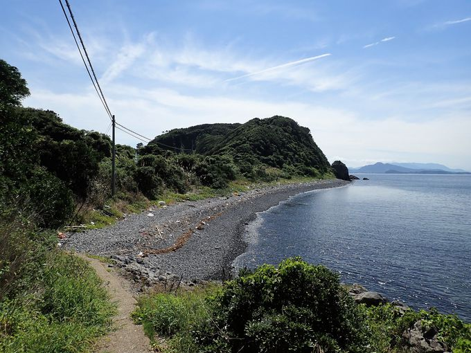 のどかな相島の風景
