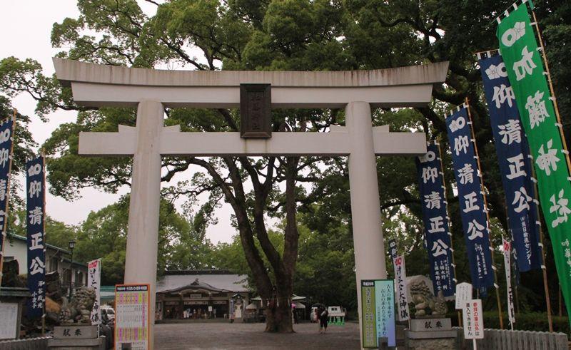 熊本城本丸に鎮座する「加藤神社」が参拝可能に