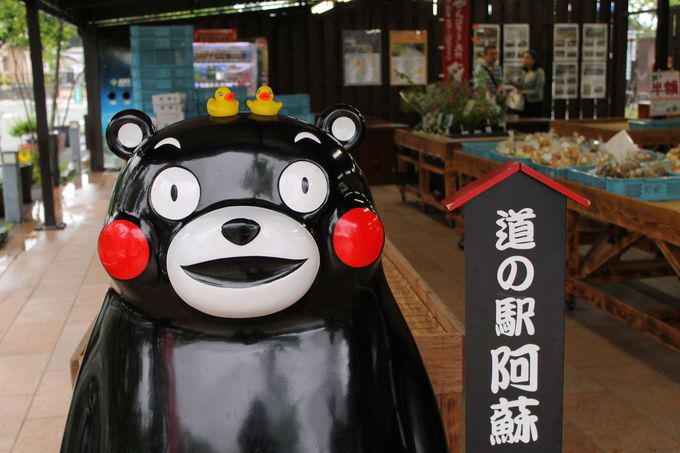 熊本・阿蘇のおいしい!がいっぱい「道の駅・阿蘇」