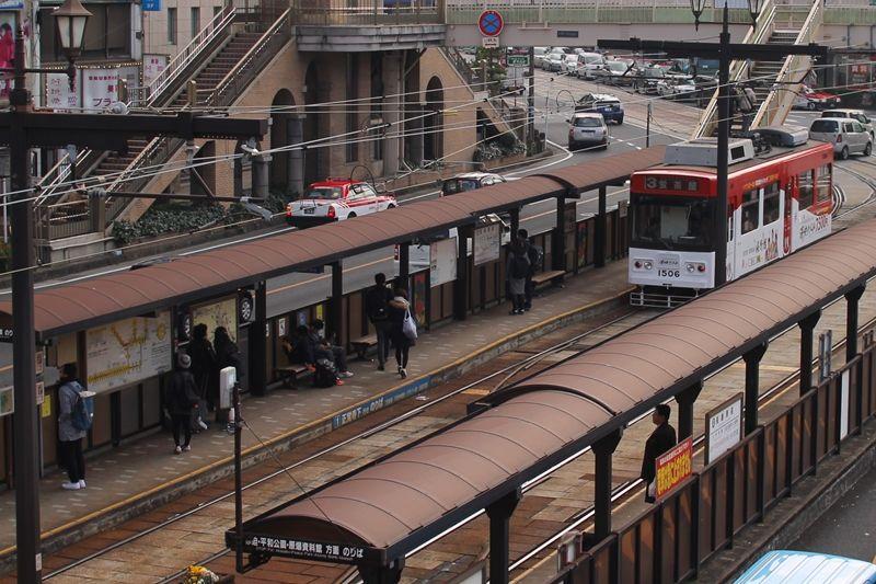 アクセスは長崎名物「チンチン電車」で