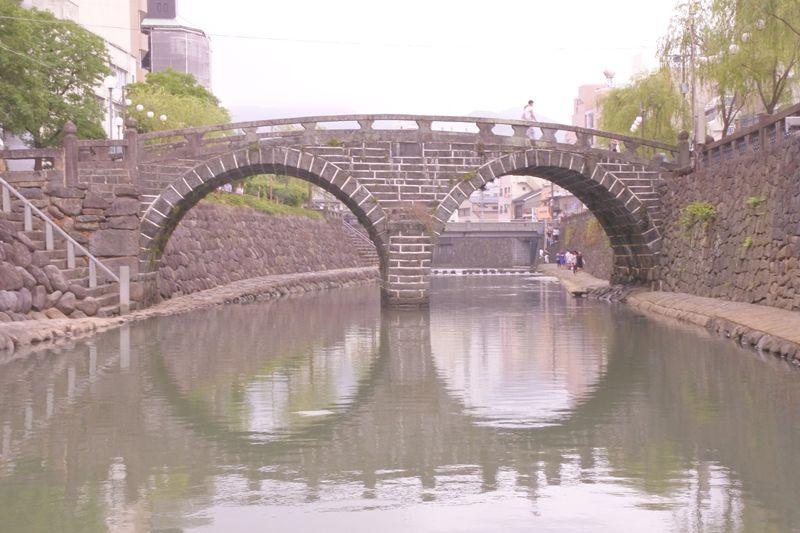 「眼鏡橋」は観光で外せない!ハートストーンも見つけたい!