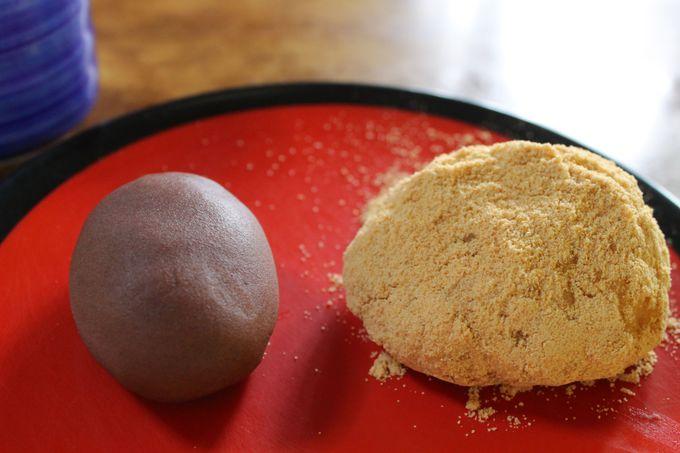 月見茶屋で、長崎名物「諏訪のぼた餅」を召し上がれ