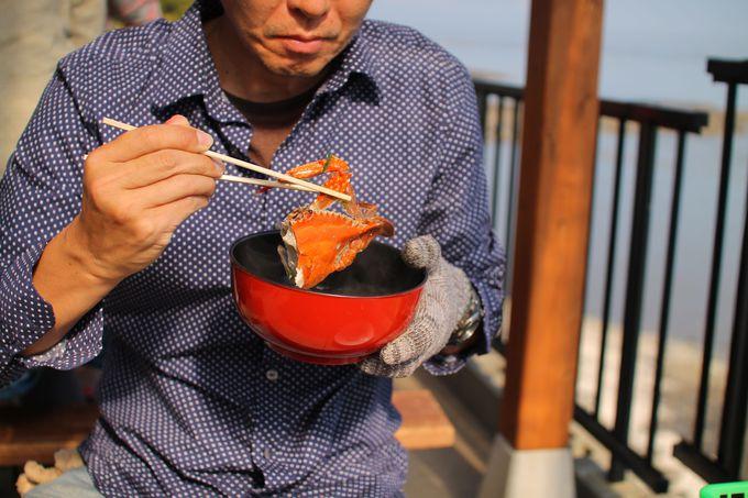 絶対食べたい!たらカキ焼海道の絶品「焼き牡蠣」