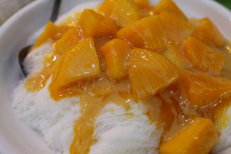 台湾で一番おいしい!?マンゴーかき氷「冰讚ピンザン」芒果雪花冰