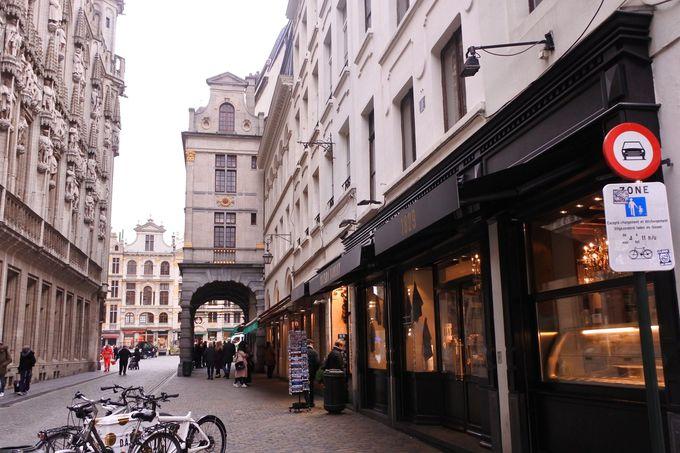 ベルギー・ブリュッセルの老舗店「メゾンダンドワ」