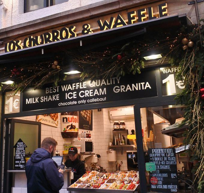 名物ベルギーワッフルは、ブリュッセルで一番美味しいメゾンダンドワで!