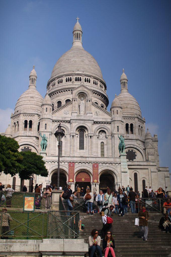 4.パリ市内車窓観光&モンマルトルの丘散策