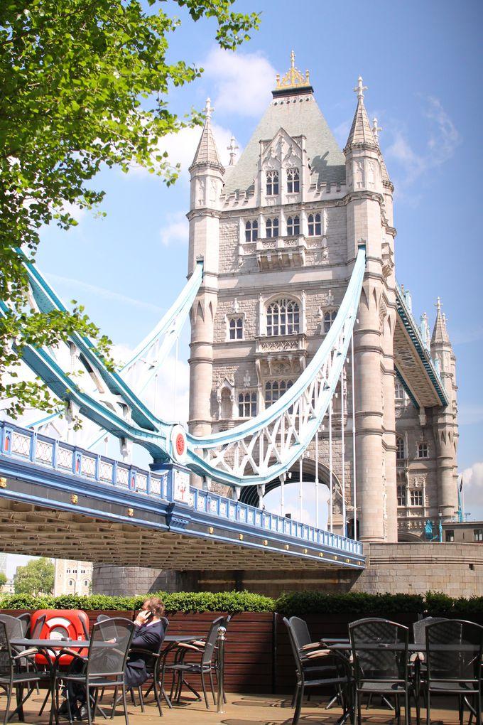 【朝10:00】ロンドン観光はタワーブリッジからスタート