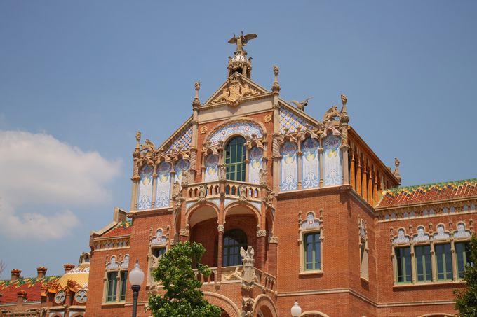 バルセロナの穴場観光スポット「サン・パウ病院」
