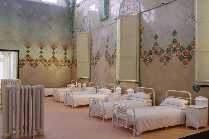 再現されたクラシカルな病院