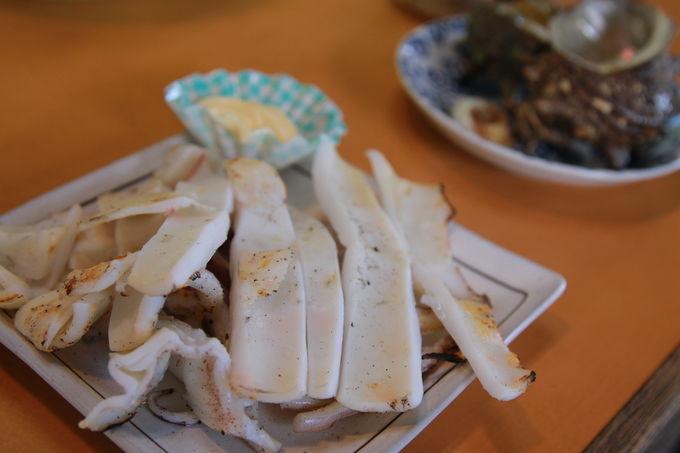 波戸岬グルメ!名物サザエのつぼ焼きを食べよう