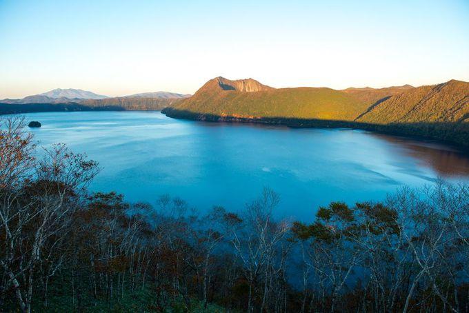 神秘の湖「摩周湖」