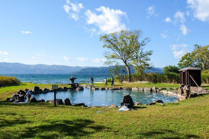 癒し&絶景の野天湯「池の湯」