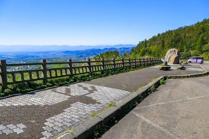 日高連峰そして太平洋まで見渡せる「扇ヶ原展望台」