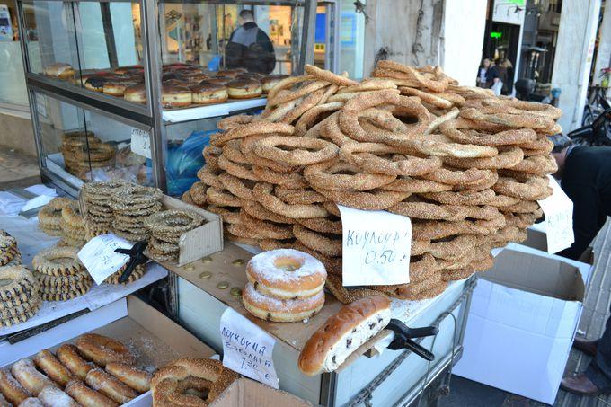豊富なギリシャ料理に舌鼓!