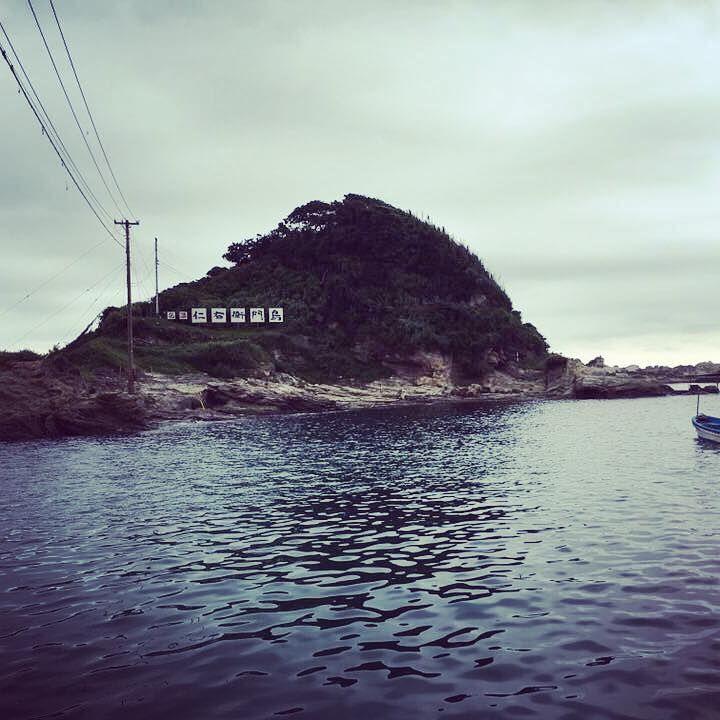 南房総の海に浮かぶ!小さな島