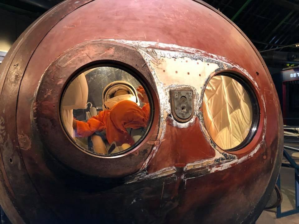 宇宙ファン垂涎の貴重な展示物たち