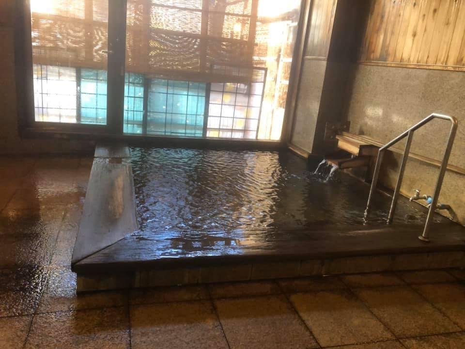 ヒバ造りのお風呂でリフレッシュ!