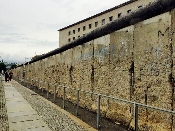ベルリンの壁も見学