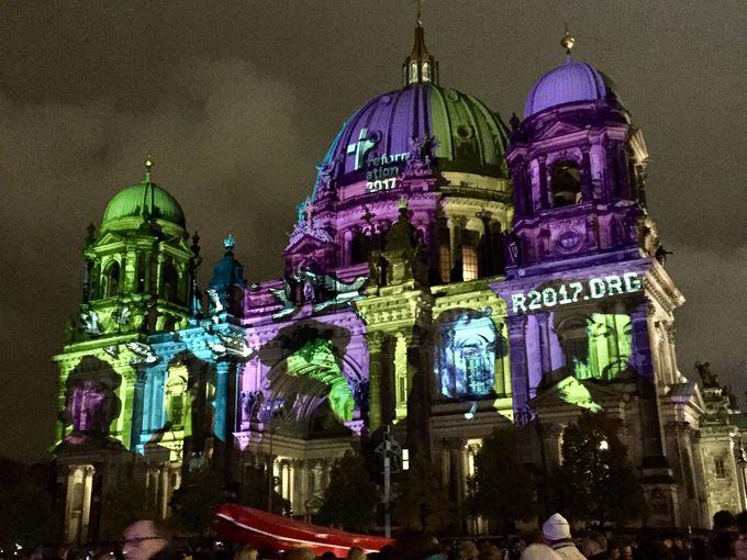 スタート地点はベルリン大聖堂